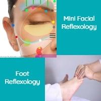 Mini Facial Reflexology & Foot Reflexology 90mins